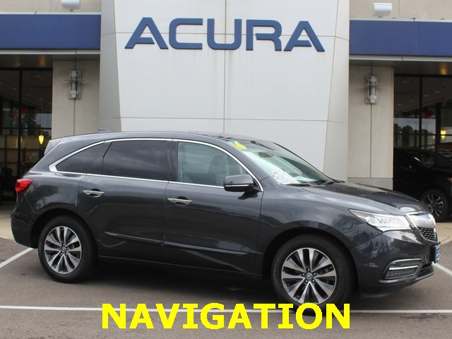 Certified PreOwned Acura MDX SHAWD With Technology Package D - Acura mdx pre owned