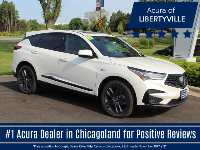 new 2019 acura rdx sh awd a spec 4d sport utility in libertyville