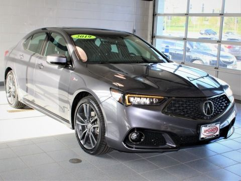 Certified Pre-Owned 2019 Acura TLX 3.5 V-6 9-AT P-AWS with A-SPEC